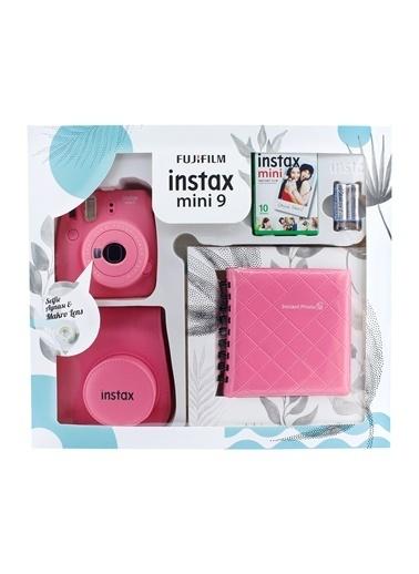 Fujifilm Instax Mini 9 Kit Pembe Pembe